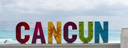 Acuario submarino en Cancún